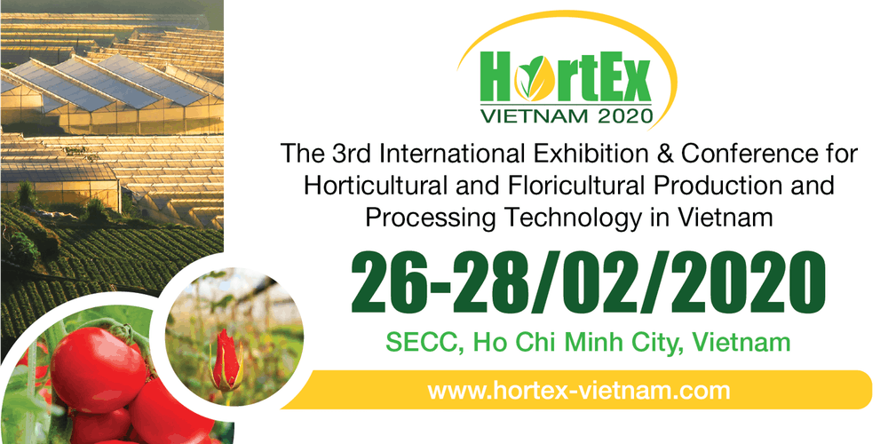 HortEx Vietnam; Unique B2B platform for the Horticulture and Floriculture sector in Vietnam!